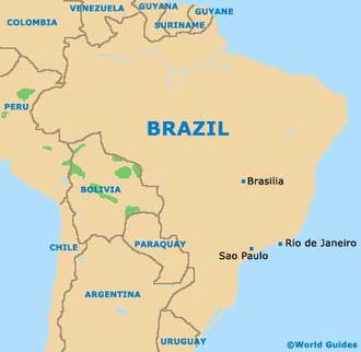 brazilian landmarks and location